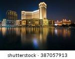 macau china   nov 24 the... | Shutterstock . vector #387057913
