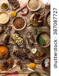 spices   Shutterstock . vector #387087727