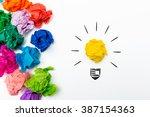 i have an idea | Shutterstock . vector #387154363