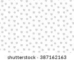 time clock seamless background. ... | Shutterstock .eps vector #387162163