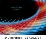 abstract bright vector... | Shutterstock .eps vector #387202717