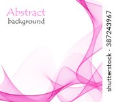 abstract pink background with... | Shutterstock .eps vector #387243967