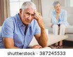 Portrait Of Worried Senior Man...