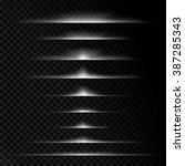 transparent light effects ...   Shutterstock .eps vector #387285343