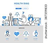 health checkup medical...   Shutterstock .eps vector #387359833
