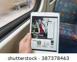 melbourne  australia   feb 26 ...   Shutterstock . vector #387378463