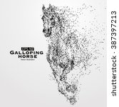 Galloping Horse Particles...