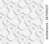 seamless geometric pattern.... | Shutterstock .eps vector #387430237