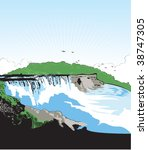 2 Niagara-Falls free clipart | Public domain vectors