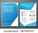 brochure design template vector.... | Shutterstock .eps vector #387499747