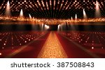 red carpet festival glamour... | Shutterstock . vector #387508843
