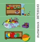 game for a children's magazine... | Shutterstock . vector #387530143