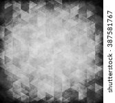 designed grunge texture or... | Shutterstock . vector #387581767