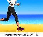 fitness  jogging   Shutterstock .eps vector #387624043