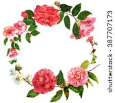 a vintage style decorative... | Shutterstock . vector #387707173