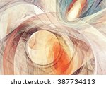 abstract bright motion... | Shutterstock . vector #387734113