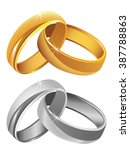 Gold   Silver Wedding Rings...