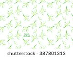 abstract background. green... | Shutterstock .eps vector #387801313
