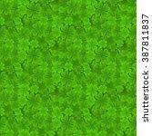 saint patrick's day. seamless... | Shutterstock .eps vector #387811837