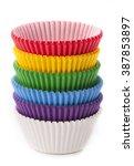 Cupcake Baking Cup Rainbow