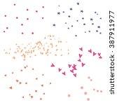 vector confetti. confetti... | Shutterstock .eps vector #387911977