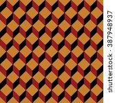vector seamless pattern. modern ... | Shutterstock .eps vector #387948937