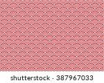 illustration of wave crest... | Shutterstock .eps vector #387967033