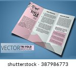 brochure or cover design  can... | Shutterstock .eps vector #387986773