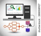 concept of business... | Shutterstock .eps vector #388008907
