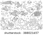 Coloring Of Underwater World....