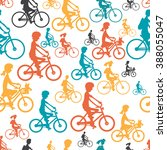 seamless textile pattern with... | Shutterstock .eps vector #388055047