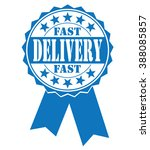 fast delivery  icon  vector... | Shutterstock .eps vector #388085857