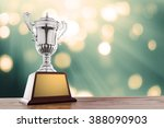 Winner Cup With Abstract...