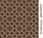 moroccan pattern. mosaic tiles. ... | Shutterstock .eps vector #388104997