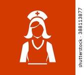 nurse icon   Shutterstock .eps vector #388113877