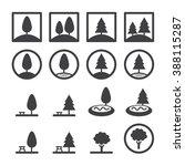 park icon set | Shutterstock .eps vector #388115287