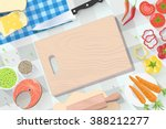 fast food flat banner. for... | Shutterstock .eps vector #388212277