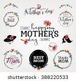 happy mother's day... | Shutterstock .eps vector #388220533