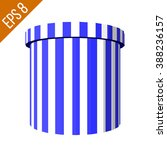 striped container. tub food... | Shutterstock .eps vector #388236157