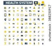 health care icons  | Shutterstock .eps vector #388250917