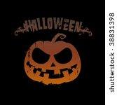 halloween vector background... | Shutterstock .eps vector #38831398
