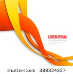 abstract curved lines...   Shutterstock . vector #388324327