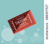 ticket icon design  | Shutterstock .eps vector #388357927