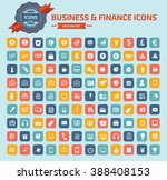 business and finance icon set... | Shutterstock .eps vector #388408153
