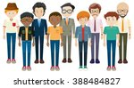 simple character of male in... | Shutterstock .eps vector #388484827