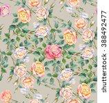 beautiful roses. flowers... | Shutterstock . vector #388492477