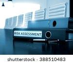 risk assessment. business... | Shutterstock . vector #388510483