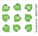 vector labels and emblems of... | Shutterstock .eps vector #388537687