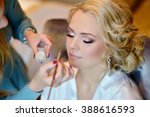 Wedding Makeup Artist Making A...