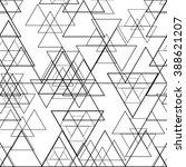 geometry pattern. vector. | Shutterstock .eps vector #388621207